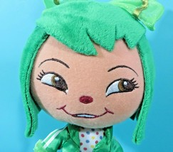 "Disney Store Wreck It Ralph Minty Zaki Green 9"" Plush Bean Bag Girl Doll Scented image 2"