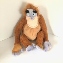 "Disney King Louie Orangutan The Jungle Book 14"" Plush Monkey W/ Closure ... - $17.72"