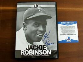KEN BURNS SPORTS FILMMAKER DOCUMENTARY SIGNED AUTO JACKIE ROBINSON DVD B... - $118.79