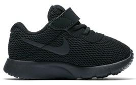 Nike Toddler Tanjun Casual Shoes Lightweight Black 818383-001 - $44.95