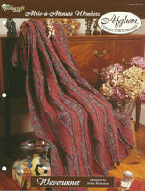 Needlecraft Shop Crochet Pattern 972042 Waverunner Afghan Collectors Series - $4.99