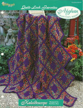 Needlecraft Shop Crochet Pattern 962370 Kaleidoscope Afghan Collectors S... - $4.99