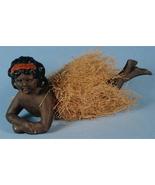 Scarce Black Bisque Bathing Beauty, Original Gr... - $175.00