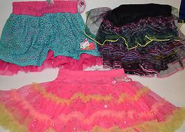Girls Hello Kitty Black /Lace/ Pink Skirt- Tutu Size  XS 4/5, M 7/8, Nwt  - $11.99