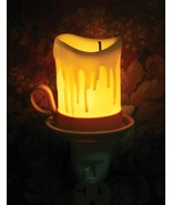 Charming Vintage Style Drippy Old Candle Night Light,5'' x 2''H. - $23.76