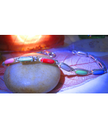Haunted bracelet 3X ACTIVATE POWERS PROMOTE PEACE 925 MULTI STONE WITCH CASSIA4 - $100.00