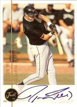 1999 jason werth autograph just minors washington nationals baseball card - $12.99
