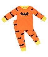 Unique Baby Girls 2-Piece Halloween Bat Pajama Set (7) - $19.99