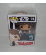 Funko Pop Ceremony Han Solo Summer Convention 2016 - Sealed in Pop Prote... - $39.99