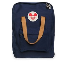 Disneyland Walt Disney World Canvas Backpack - Embroidered Logo, Mickey ... - $129.99