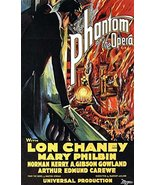 Reproduction of a poster presenting - Phantom Of The Opera, The 1925 - A... - $19.79