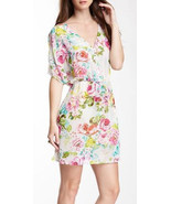 NEW Love Stitch Sheer Floral Summer Sun Dress T... - $40.04 CAD