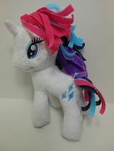 """RARITY My Little Pony Mini Plush 6"""" White Horn Soft Plush Hasbro Funrise... - $6.82"""