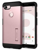 Spigen Tough Armor Designed for Google Pixel 3 Case (2018) - Rose Gold - $20.81