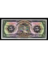 "MEXICO P34f ""GYPSY"" 5 PESOS 1943 RAW UNCIRCULATED - $10.00"