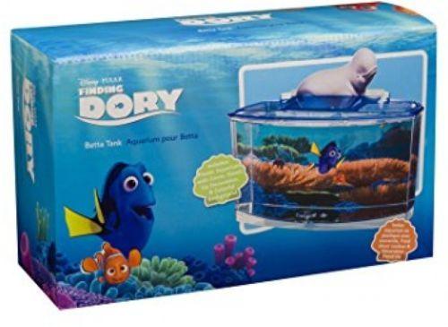 Penn plax finding dory betta fish tank kit fun for kids for Finding dory fish tank