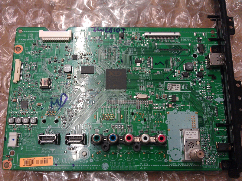EBT62114908 Main Board From Lg 42CS560-UE AUSYLJR LCD TV