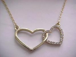 interlocking heart necklace - $5.89