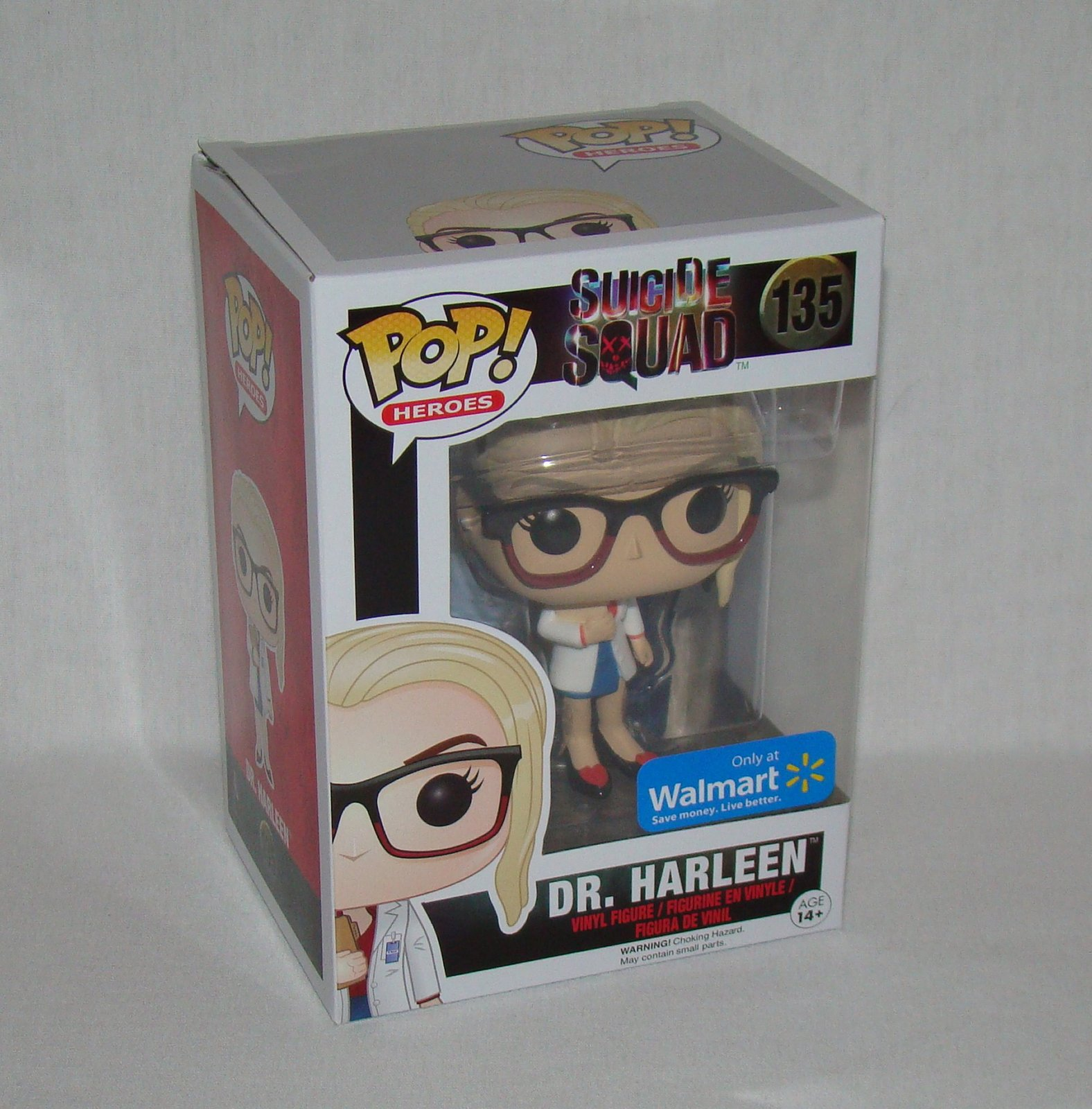 Funko Pop Suicide Squad Dr. Harleen Harley Quinn Exclusive - Sealed in Pop Prote