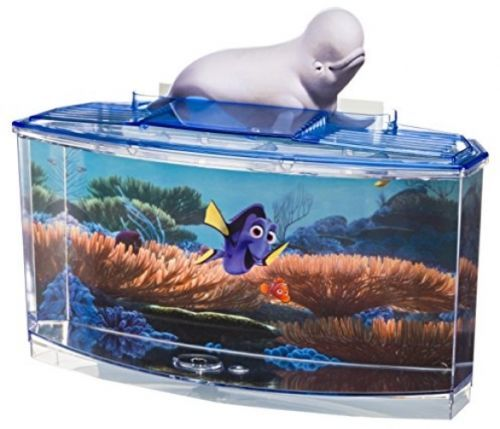 Penn plax finding dory betta fish tank kit fun for kids for Fish tanks for kids