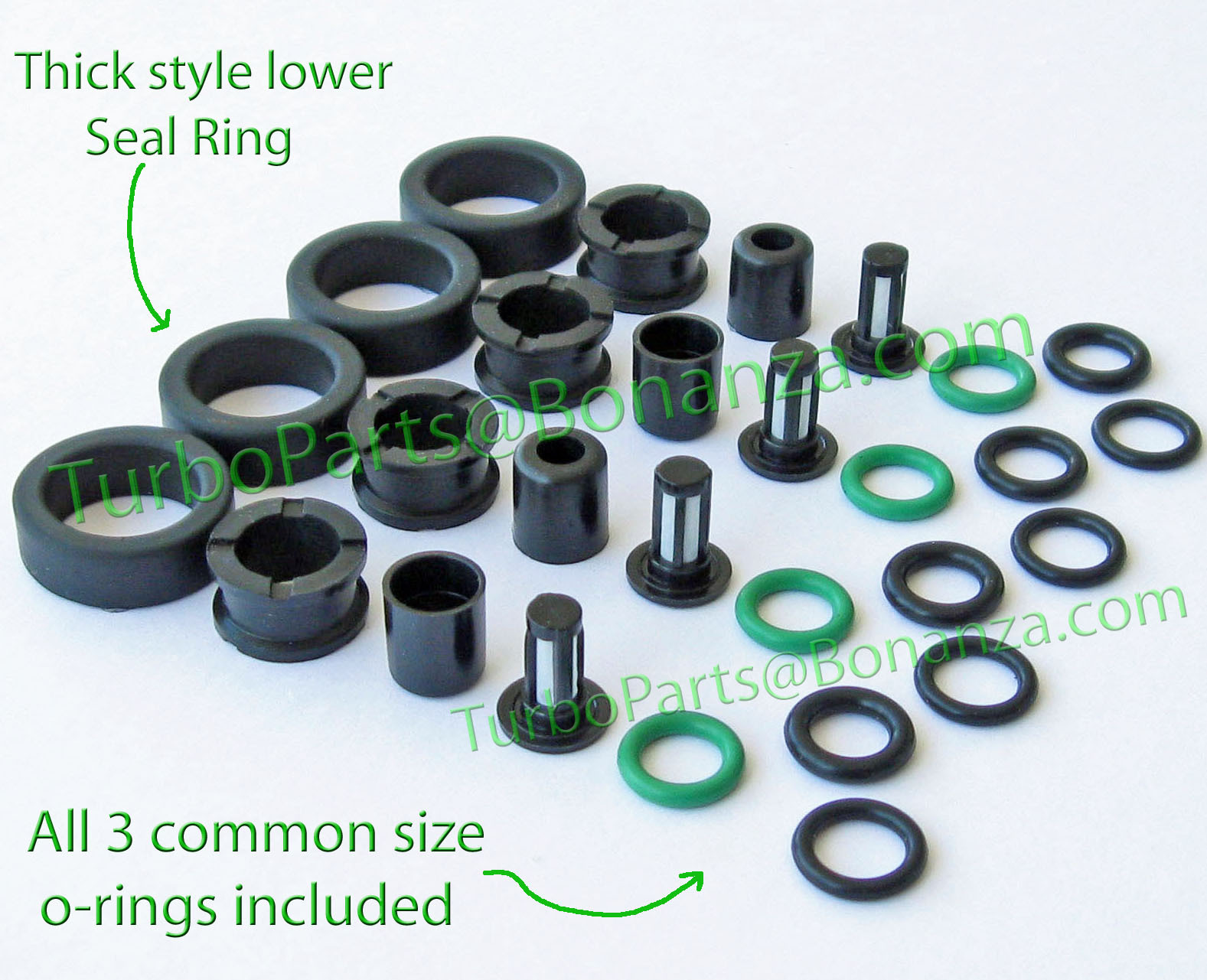 New Fuel Injector Seal O-Ring Kit For RC Engineering Fuel Injectors For Honda