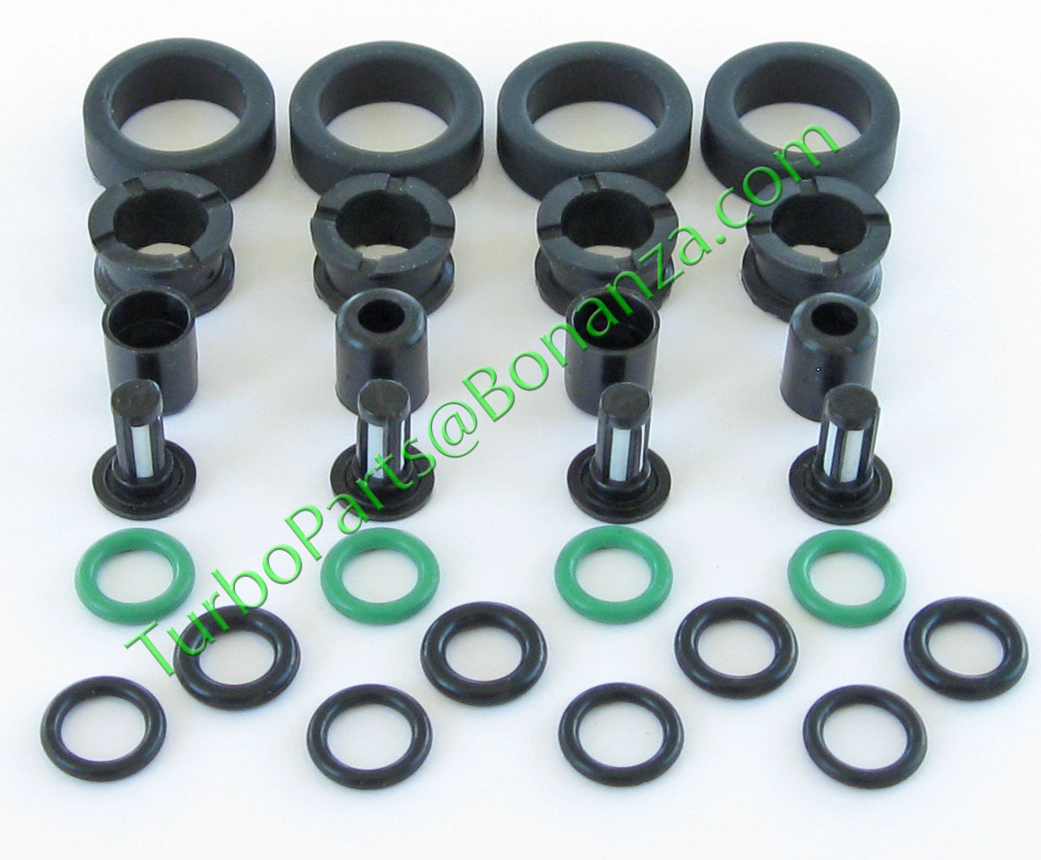 GENUINE HONDA FUEL INJECTOR ASSEMBLY INCLUDING THE TOP O-RINGS AND BOTTOM SEAL