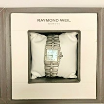 Raymond Weil Geneve Parsifal Women's Watch in original box Silver Diamonds - $1,409.51