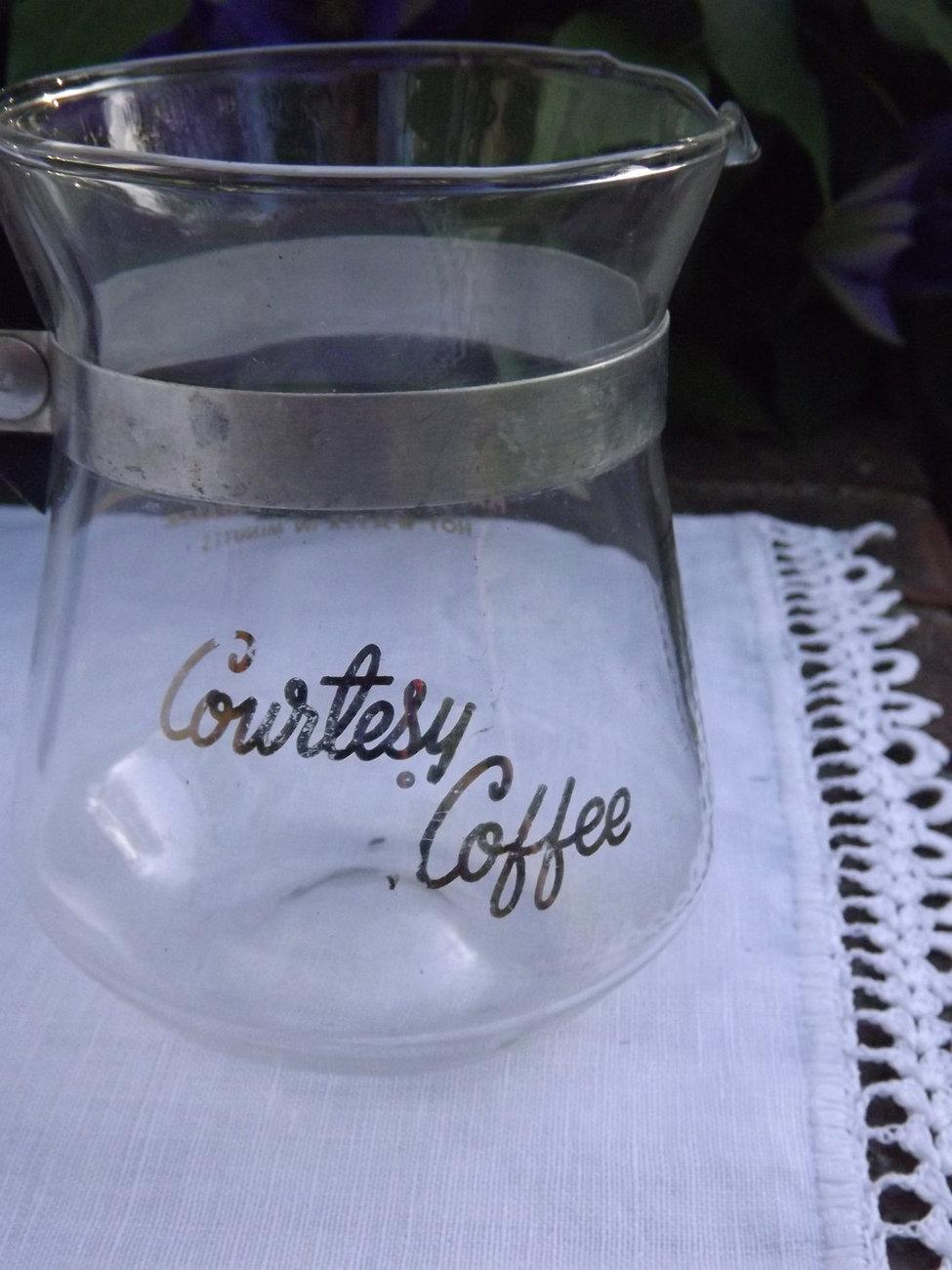 Retro Coffee Carafe - Small Decanter - 2 Cups