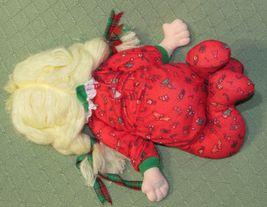 "16"" Applause CHRISTINE Vintage Cloth Doll Marge Toner CHRISTMAS Pajamas Blonde  image 5"