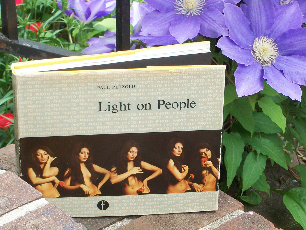 Photography Book - Light on People -  How To Photograph - Vintage 1971