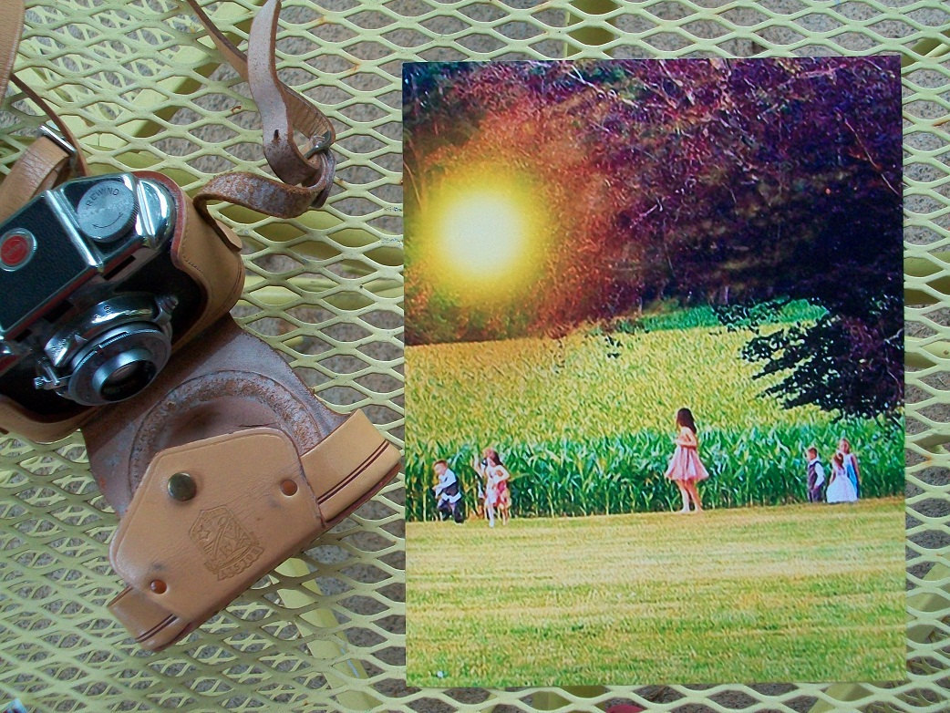 Surreal Photo Children in the Corn Nature Photography 8X10 Printed Photograph