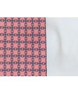 Vintage Necktie - Raspberry and Blue Cross Pattern Tie - - Silk - London... - $18.00