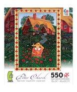Poppy Garden (used 550 PC jigsaw puzzle) - $7.00