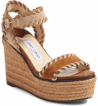 Jimmy Choo Abigail Whipstitch Wedge Size 36.5 - $386.09