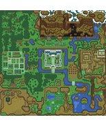 Vinteja charts of - Legend of Zelda - A Link to the Past Light Map - A3 ... - $19.79