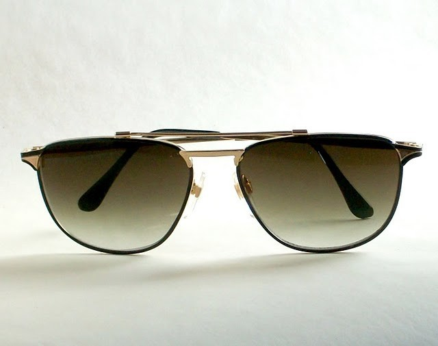 Sunglasses - Horn Rimmed Unisex Wire Metal Sunglasses