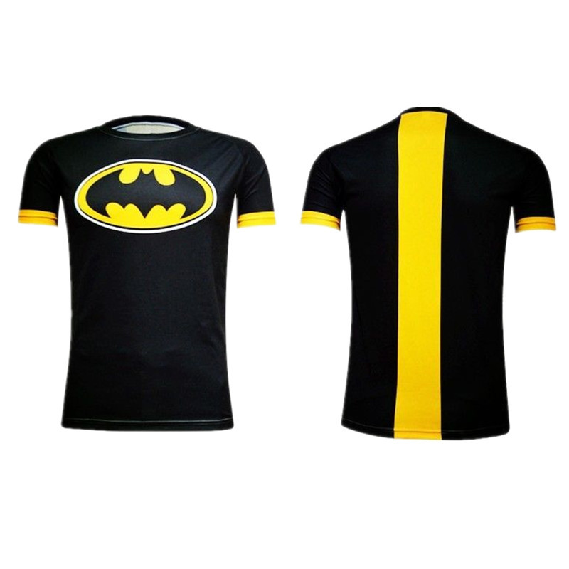 Primary image for Superhero Batman Forever Halloween Costume tee Sports Jersey