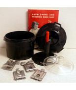 1950s Ansco BW Developing Tank, Original Guide ... - $19.95