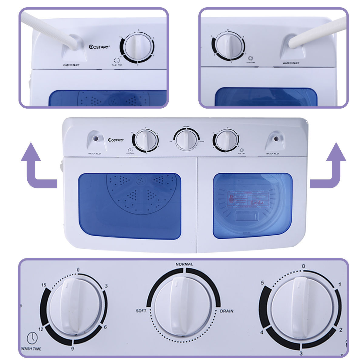 apartment washer and dryer combo all in one washing