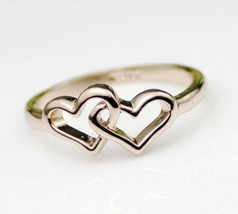 18K RGP Heart in Heart Alloy Cocktail Ring(Size:Gold-16.5) - $7.69