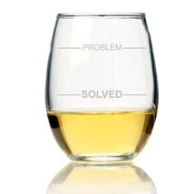 Problem - Solved Stemless Wine Glass - $9.99