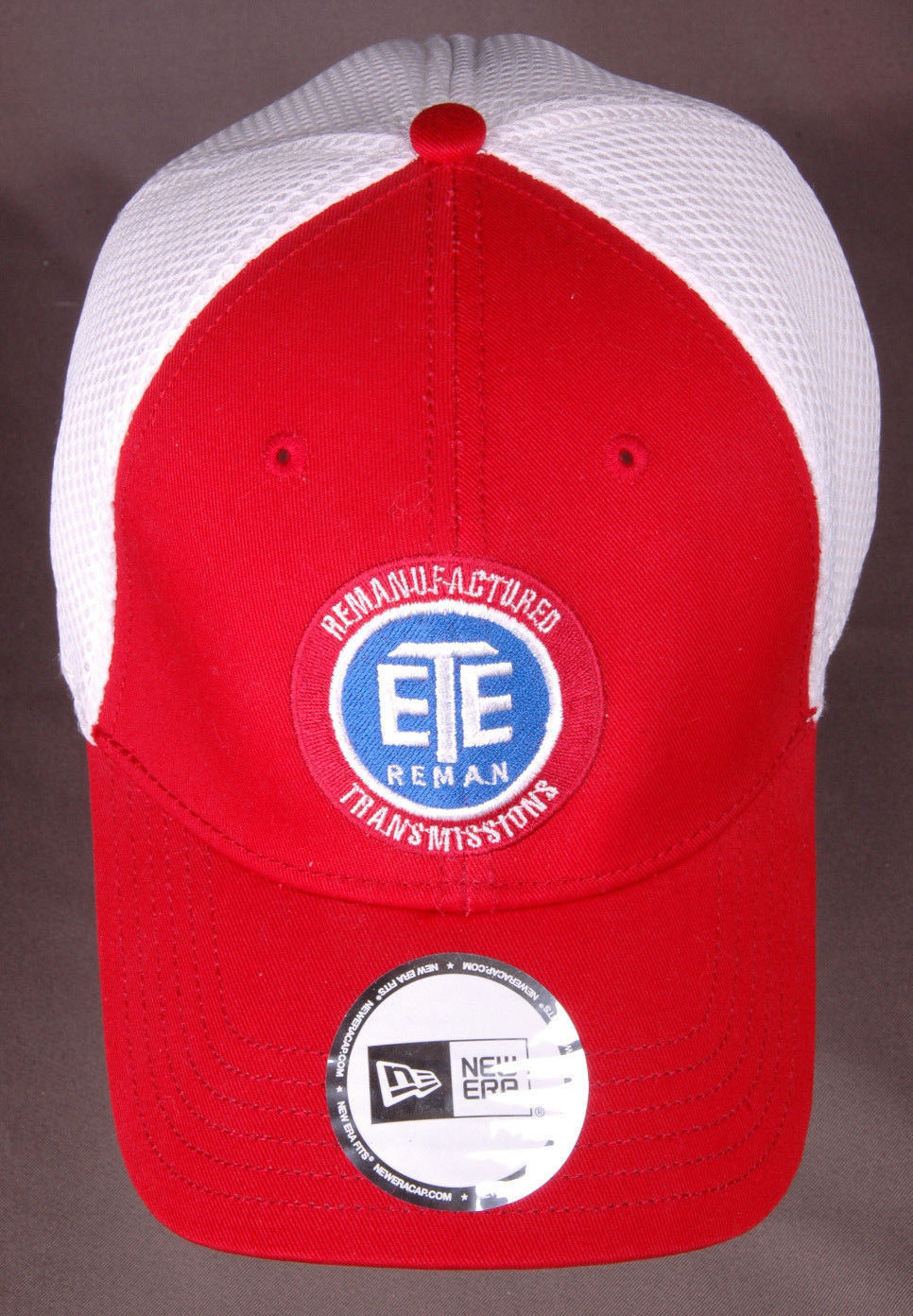 6ceb4c4922a Vtg ETE REMAN Remanufactured Transmissions Baseball Hat-Red White-Mesh  Back-Auto -  23.36 · Advanced search for New Era Baseball Hat
