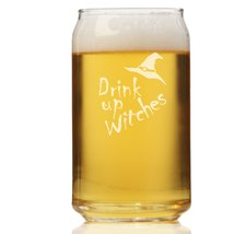 Drink Up Witches Can Glass - $9.95