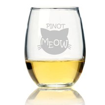 Pinot Meow Stemless Wine Glass - $9.99