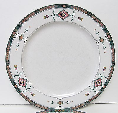 Adirondack Studio Nova Mikasa Southwest Style 10 7/8 Dinner Plates Y2201 (2) & Adirondack Studio Nova Mikasa Southwest and 34 similar items