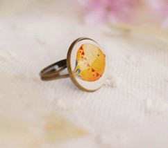 Chic Adorable Bird Acrylic Vintage Cocktail Ring - $6.99