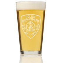NYPD Pint Glass - $9.95