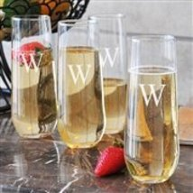 Stemless Champagne Flutes(Set of 4) - $41.98