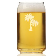 Palm Tree Can Glass - $9.95