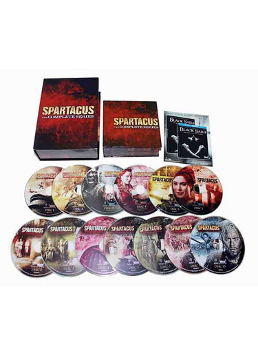 New Spartacus The Complete Series DVD Box Set 13 Dsic Free shipping